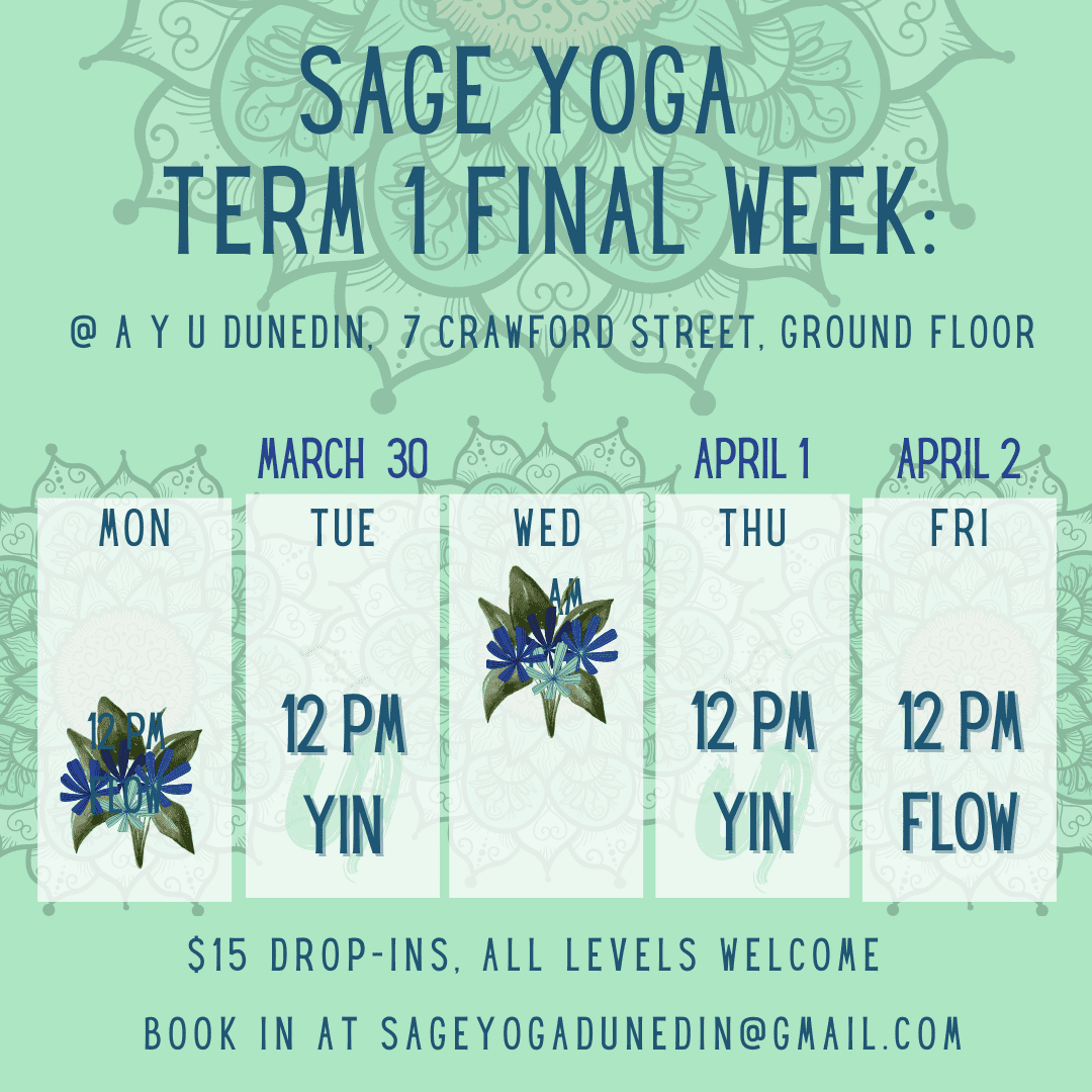 final week sage